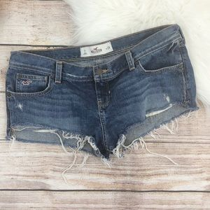 Hollister Distressed  Denim Jeans Cutoff Shorts
